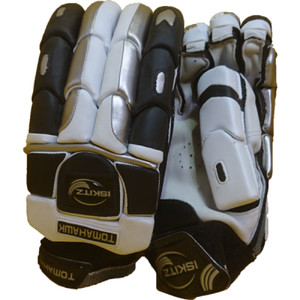 tomahawk square design cricket gloves - junior